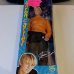 Aaron Carter Action Figure Doll boxed 2002 Music Singer Orange @SOLD@
